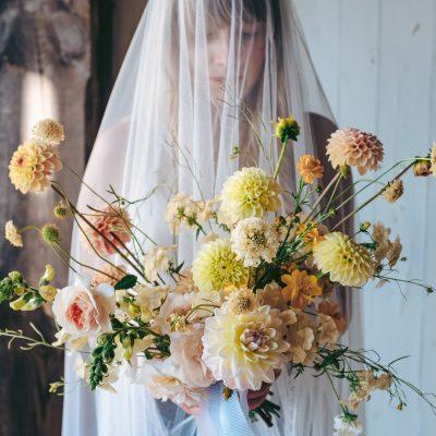 Bukiet ślubny WEDDING