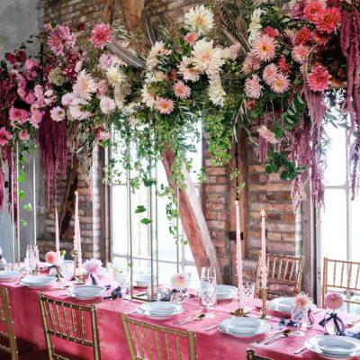 Instalacja kwiatowa – Wedding